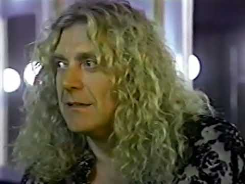Robert Plant Interview & Live 1993 Vancouver