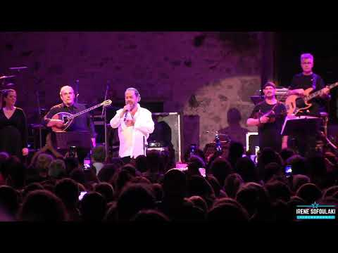 Rethymno: Yiannis Parios on Stage (25.07.2019)