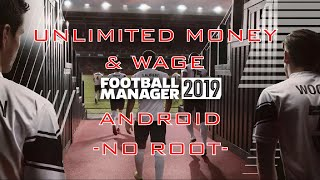 Football Manager 2019 Mobile Cheats Unlimited Transfer / Wage Budget, max stadium, training & youth