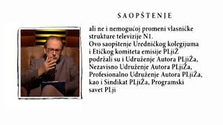 SAOPŠTENJE  PLjiŽa  (S02 E11 - 14.12.2018.)