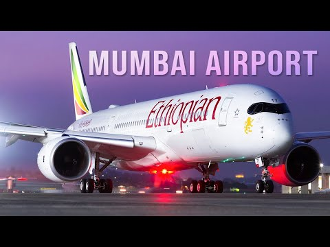 Ethiopian Airlines Airbus A350-900XWB First Flight to Mumbai