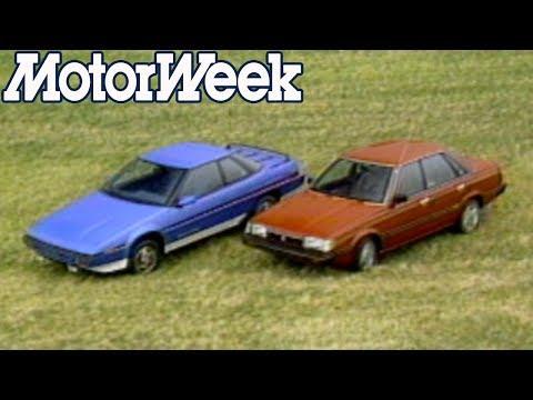 1985 Subaru XT Coupe And Sedan | Retro Review