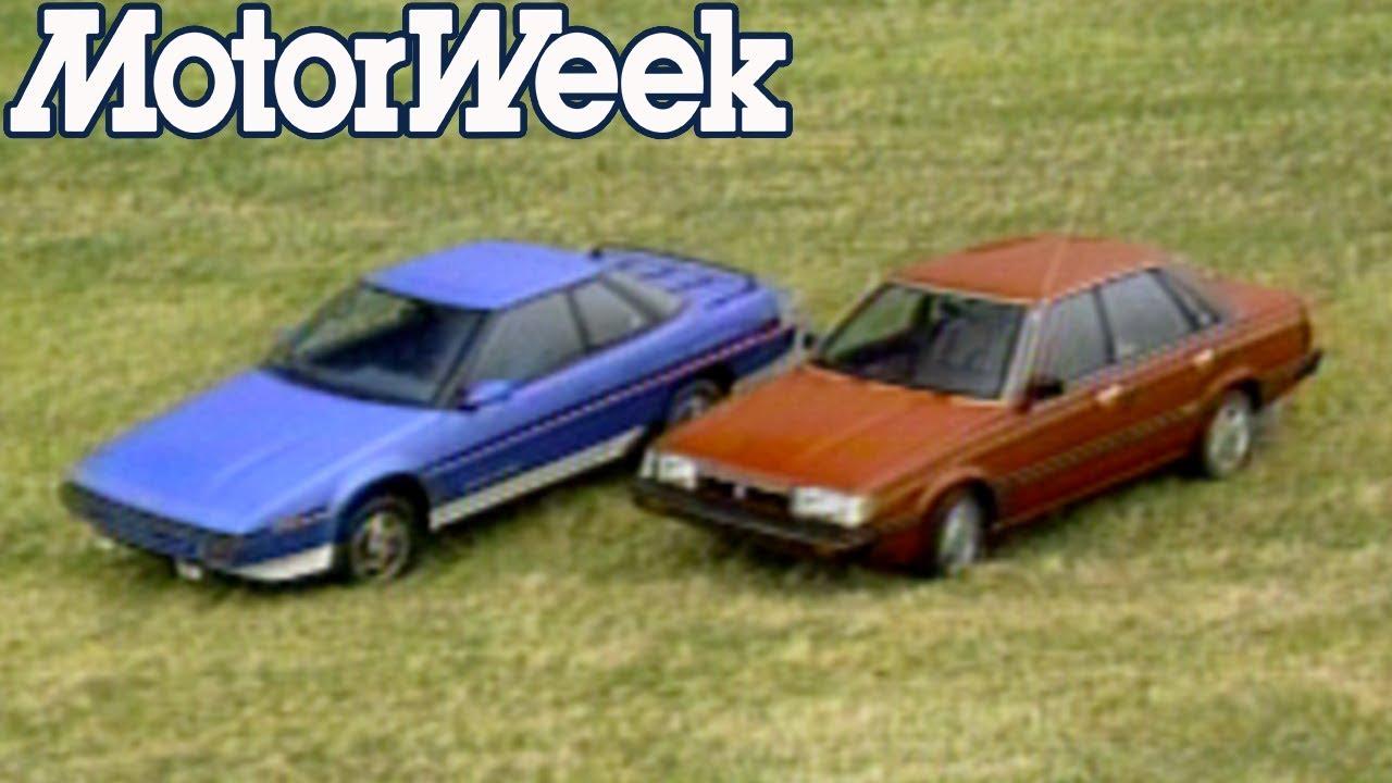 1985 Subaru Xt Coupe And Sedan Retro Review Youtube