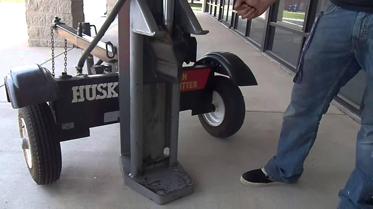 Huskee 35 Ton Log Splitter