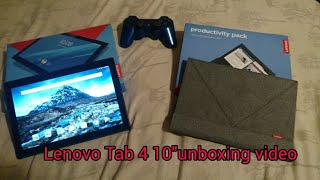 Lenovo Tab 4 10 unboxing | mini review