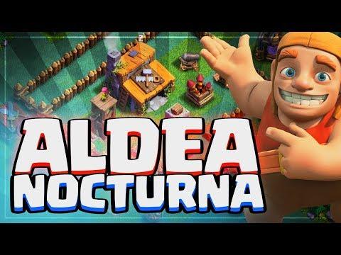 HUMILLADO EN LA ALDEA NOCTURNA | Clash of Clans