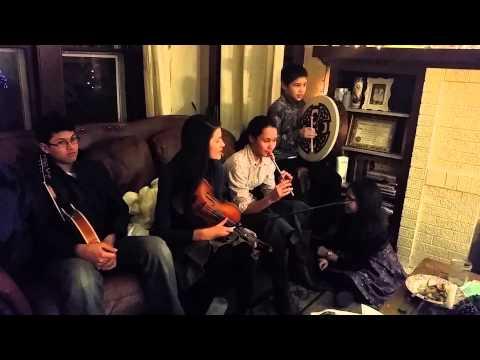 Irish folk music children