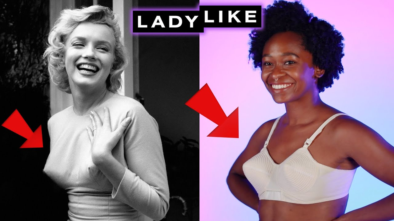 50f63c1e9d We Wore Vintage Bras For A Day • Ladylike - YouTube