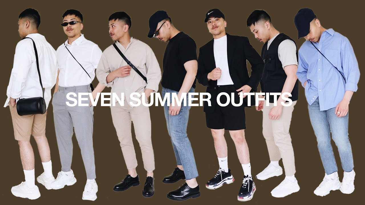 7 SUMMER OUTFITS / Men's Fashion Summer Outfit Ideas 8