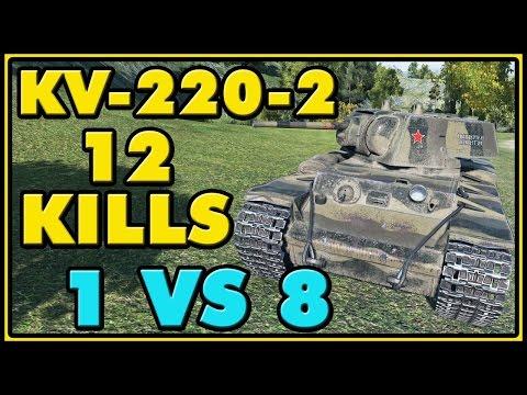 World of Tanks | KV-220-2 - 12 Kills - 3.1K Damage