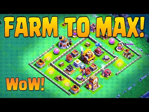 How to Max Builder's Base | Let's Farm to Max Builder's Hall 5!!! | Clash Of Clans