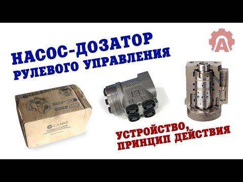 Насос-дозатор рулевого управления - устройство и принцип работы