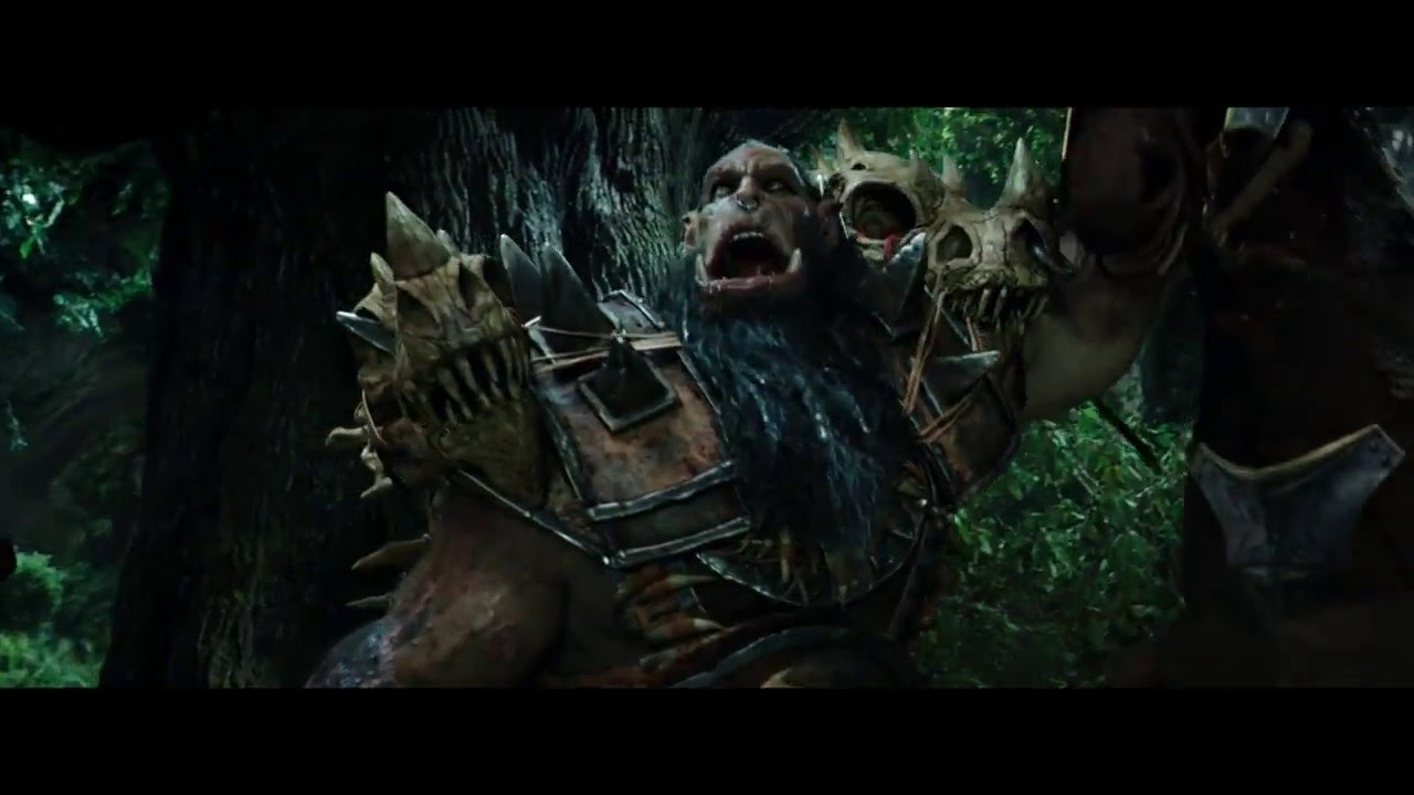 "WARCRAFT Movie Clip ""Lothar And His Soldiers Are Attacked"