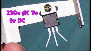5 V Dc İçin Kolayca (adım Adım)230 V AC Dönüştürme nasıl