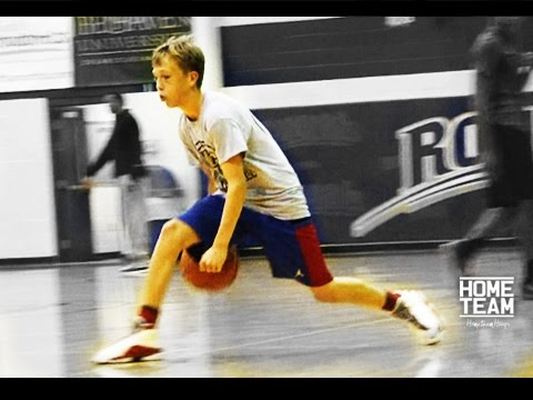 "Jaxon Williams Workout, Jason Williams Son ""White Chocolate Jr""  - Showtime Hoops"