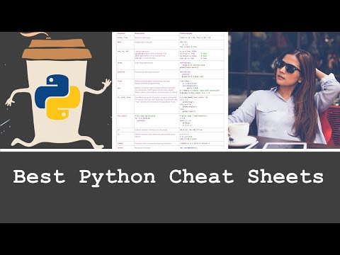 5 Python Cheat Sheets Every Python Coder Must Own