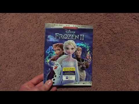 Frozen 2 2019 Blu-Ray Unboxing