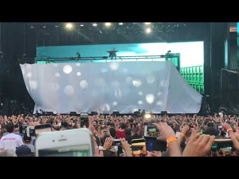 Eminem Live - Twickenham 2018 - Entrance