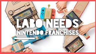 Nintendo Switch Needs Mario & Zelda Labo Kits - The Unpopular Opinion Show