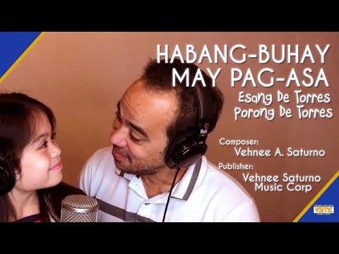 Esang De Torres Ft. Porong De Torres - Habang-buhay, May Pag-asa (Official Lyric Video)