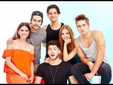 cast Teen wolf