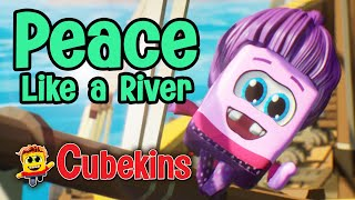 I've Got Peace Lİke a River in My Soul with Lyrics - Christian Songs for Kids - Kids Praise