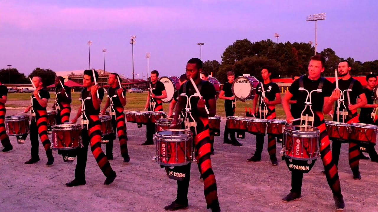 Carolina Crown 2015 Drumline - Lafayette, LA - YouTube
