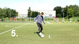 10 упражнений на контроль мяча с места - базовый набор. Обучение футболу   How to play football