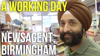 A Working Day – Newsagent, Birmingham