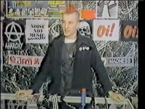 1983 Melrose Punk scene  KTTV Channel