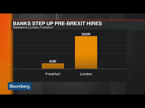 Banking Giants Step Up Pre-Brexit Frankfurt Hires