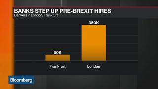 Banking Giants Step Up Pre-Brexit Frankfurt Hires