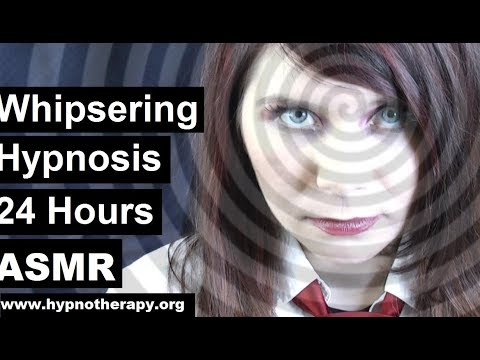 24 Hours of deep sleep hypnosis. Whispering ASMR with finger induction and hypno spiral
