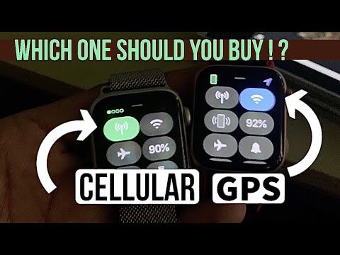 Apple Watch GPS  Vs Apple Watch Cellular : Which One Should You Buy ?