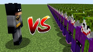 BATMAN VS 1000$ JOKER ORDU - Minecraft