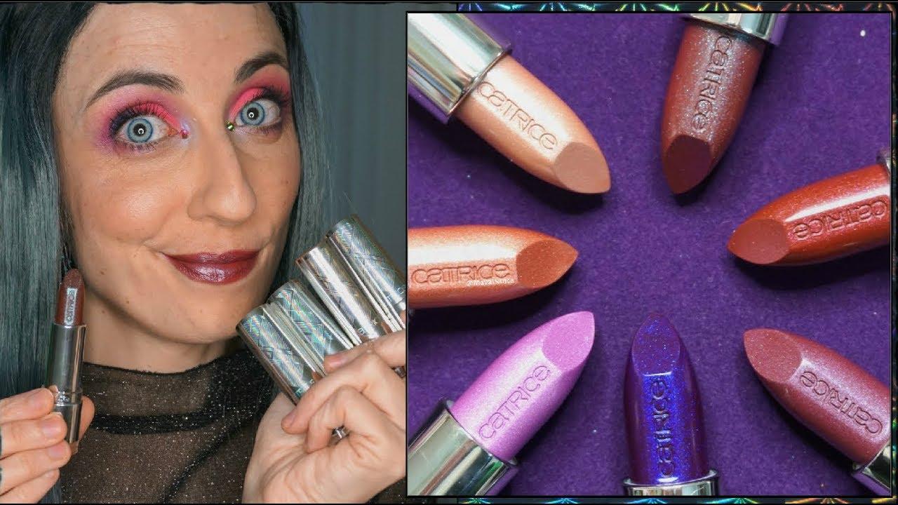 Novedades Catrice Primavera Verano 2018 Prisma Chrome Youtube Jill Beauty Lip Matte 13 Purplish Plum