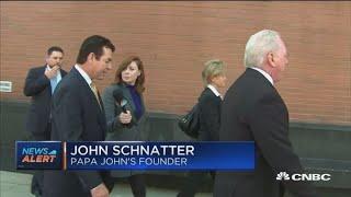 Papa John's John Schnatter: I am part of the company but don't want to be CEO