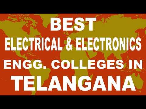 Best EEE Engineering Colleges in Telangana