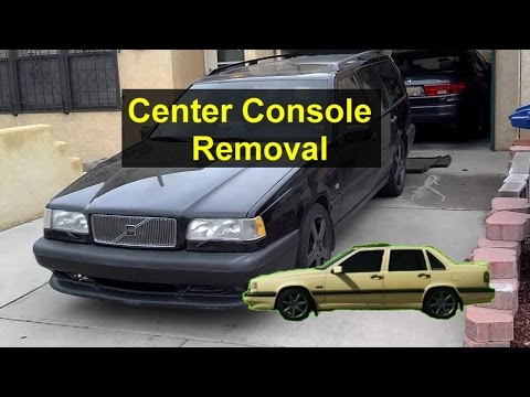 How To Remove The Center Console, Shifter Light Replacement, Volvo 850 - VOTD