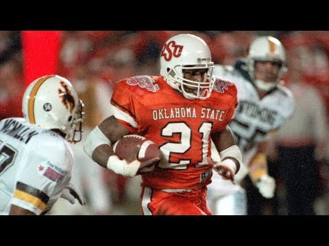the latest 81b14 195e7 Oklahoma State's 1988 Barry Sanders uniforms are awesome ...