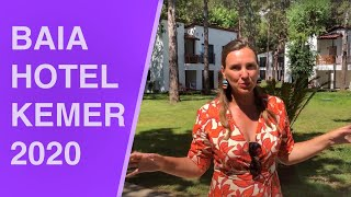 Честный обзор BAIA HOTEL KEMER 2020 Обзор отеля в Турции Байя Кемер 2020 основные плюсы и минусы