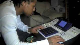 (SWV RAIN DOWN ON ME REMAKE) - YOUNG REBEL MAKING A BEAT ON THA MPC 4000