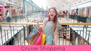 Cruise shopping | Target, Forever 21, Justice, Abercrombie Kids, JC Pennys