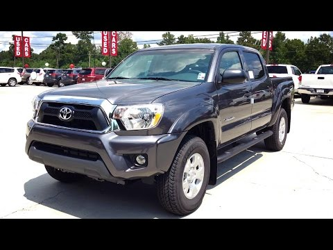2015 Toyota Tacoma Full Review, Start Up, Exhaust