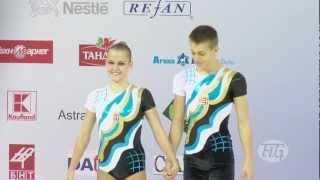 �������� ���� Mixed Pair Hungary - Aerobic World Age Group 2012 ������