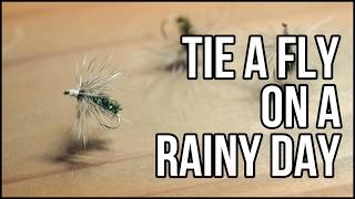 雨の日は毛針を作ろう