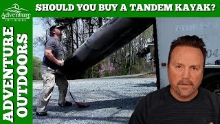 Should You Buy A Tandem Kayak?(From time to time I get asked on my channel from folks if they should buy a tandem kayak? My very first kayak was a tandem sit on top kayak. A Jackson Big ..., 2016-12-19T22:48:50.000Z)