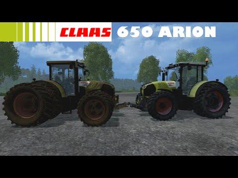 Présentation du mods CLAAS 650 Arion