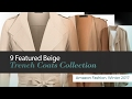 9 Featured Beige Trench Coats Collection Amazon Fashion, Winter 2017