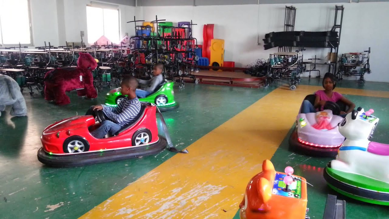 electric bumper car for kids game amusement rides youtube